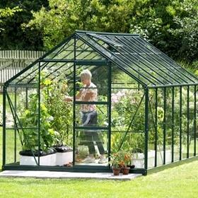 Växthus plast eller glas